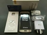 Samsung galaxy S6 EDGE G925F brand new pristine condition warranty with receipt