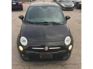 2012 Fiat 500 Sport| Leather|Sunroof| 4 seater|