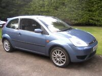 FORD FIESTA 1-2 LX 3-DOOR 2003 (53 PLATE). 94,000 MILES, JUNE 2017 MOT, VERY ATTRACTIVE.