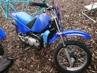 Pw90 motorbike