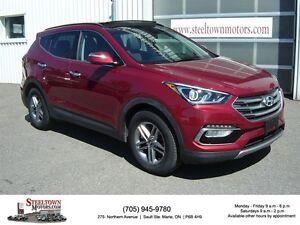2017 Hyundai Santa Fe Sport H/Leather|Pano Roof|H/Steering Wheel