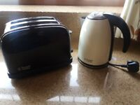 Kettle and Toaster (used/good condition)