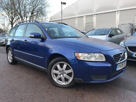 2008 Volvo V50 2.0 D S 5dr, 12 Months MOT (no advisories), Good Service History, HPI Clear, Reliable