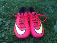 Nike Mercurial - Red/ Yellow - Size UK6