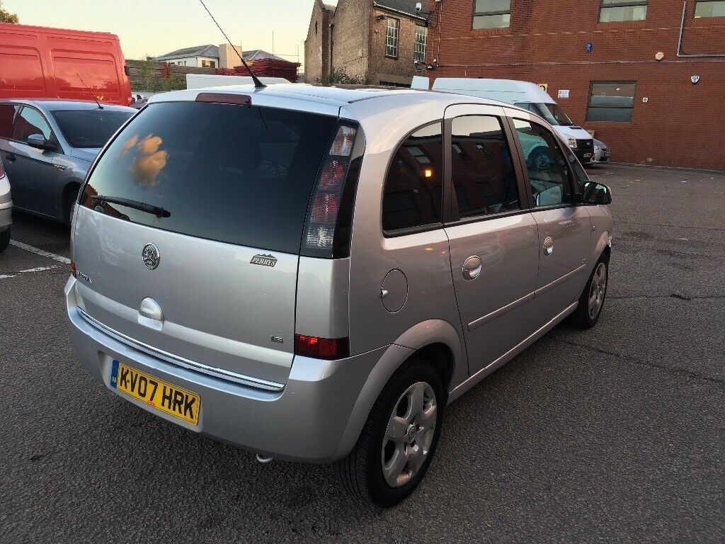 2007 Vauxhall Meriva 1 Owner Good Condition with history and mot