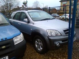 2005 kia sorento 2.5 diesel 4+4 105.000 miles very tidy 4+4 inside and out full history August mot