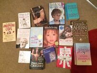 Variety of Books include Cecelia Ahern