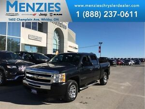 2009 Chevrolet Silverado 1500 LS, 4x4, Crew, Hitch, Tube Bars, C