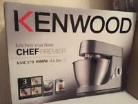 **BNIB KENWOOD KMC570 CHEF PREMIER STAND MIXING MACHINE**