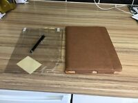 Genuine brown leather case for iPad Air 1 or 2 brand new