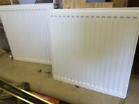 2 x 600 x 600mm radiators - £10 each or both for £15