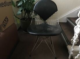 2 dining Chairs. Eames replicas