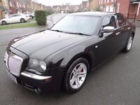 """2006 CHRYSLER 300C CRD 3.0 DIESEL AUTO BENTLEY STYLING SAT NAV LIMO TINTS FULL LEATHER 18"""" ALLOYS"""