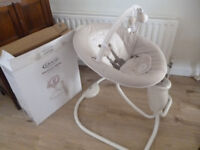 Graco snuggle swing baby - excellent condition with original box