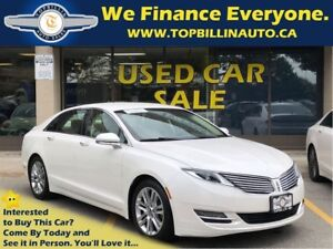 2014 Lincoln MKZ with Navigation, Leather, Backup Camera