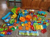 *Reduced* VTECH TOOT TOOT 5 Sets & 12 Vehicles/Animals
