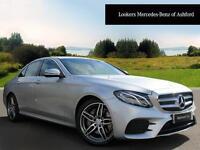 Mercedes-Benz E Class E 220 D AMG LINE (silver) 2016-03-30