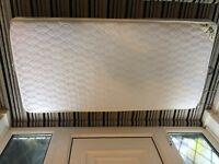 Toddler mattress. High quality mothercare sprung mattress.Dims:140cm x 70cm. Great condition.