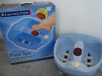 Remington Sole Soother Foot Spa - Only Used Once
