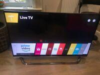 LG 49 inch 4K 3D Ultra Smart TV