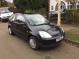 FORD FIESTA 1.4 TDCI FINESSE 3 DOOR. METALLIC BLACK