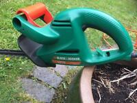 Black and Decker hedge trimmer, model GT25. Used but good working order