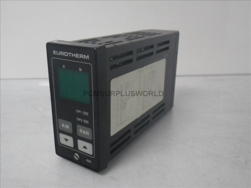 Eurotherm 808 Eurotherm Controls Temperature Controller 32-1200F 100-240Vac Used