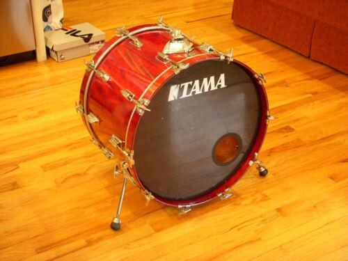 Tama 1983 Superstar 16 x 22 Bass Drum - Cherry Wine