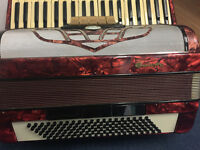 Piano accordion Galotta 120 bass 3 voice