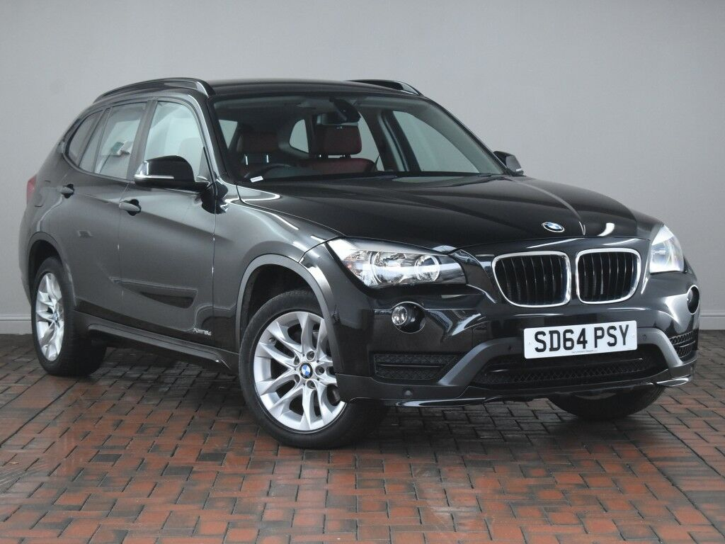 bmw x1 xdrive 18d sport 5dr step auto black 2014 in winsford cheshire gumtree. Black Bedroom Furniture Sets. Home Design Ideas