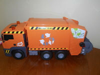 Realistic Garbage Truck, recycle truck toy