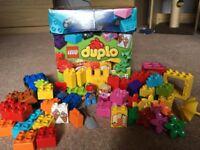 Excellent condition Lego DUPLO set 10618 PLUS sticklebricks
