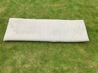 Garden bench cushion 140cm x 45cm /FREE