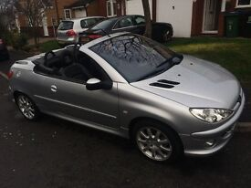 PEUGEOT 206CC 1.6L LADY OWNER QUICK SALE DUE TO NEW BABY