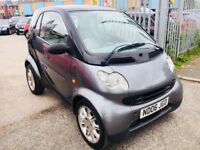 SMART CITY COUPE 0.7 TRUESTYLE PETROL COUPE BLACK 2006 PANORAMIC 98000 MILES