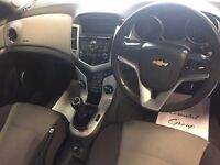 59 plate Chevrolet Cruze 1.6 LS saloon met blue 100k history , mot March 2018 new t/belt LOVELY CAR!