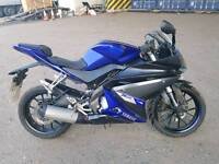Yamaha yzf r125 2014 1 year mot