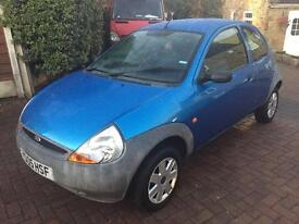 2005 05 ford ka 1.3 only covered 55000 miles with long mot