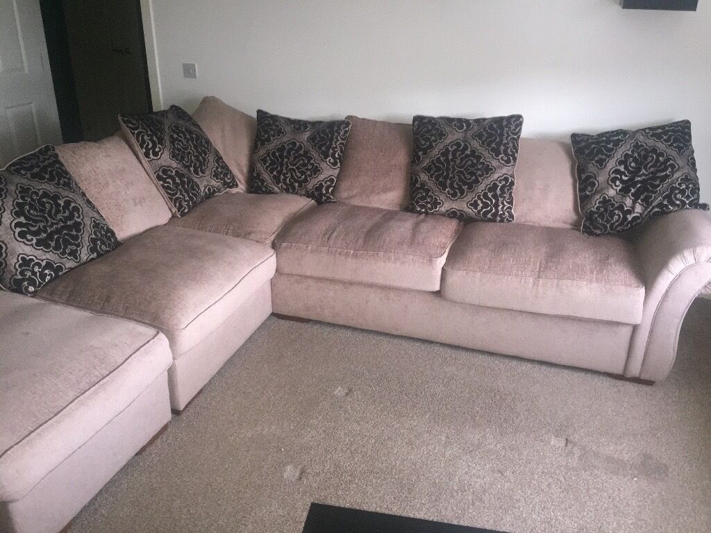 Furniture Village Glasgow reduced price* large corner sofa from furniture village | in