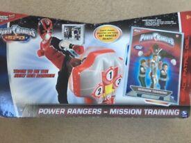 Power Rangers Mission Training Punch Bag (BNIB)