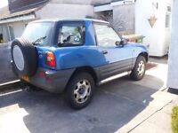 1995 TOYOTA RAV4 3DR, NICE CONDITION, LOW MILEAGE, TOW BAR (photos coming soon)