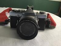 Olympus OM-1 50mm lens + lenses