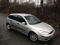 2004 04 REG, FORD FOCUS 1.6 PETROL , 5 DOOR HATCHBACK TAX & TESTED ***BARGAIN***