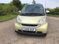 Smart fortwo auto cat n repaired