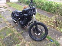 Yamaha xv535 virago bobber (new mot)
