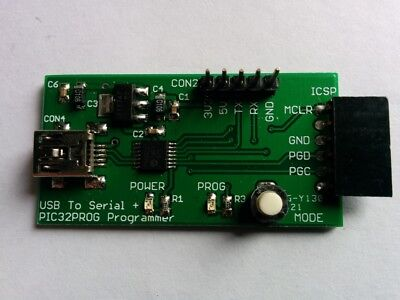Microbridge Pic32 Programmer Usb To Serial Module For Micromite Mmbasic