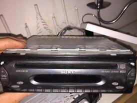 Sony car stereo
