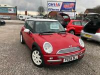 04 MINI COOPER ONE 1.6 PETROL IN RED *PX WELCOME* MOT TILL NOVEMBER 2018 £1295