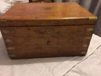 Antique Wooden Box - Very Beautiful
