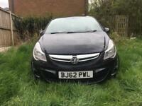 Vauxhall Corsa 1.0 2012/2013 Spares Or Repair / Damaged Repairable / Salvage